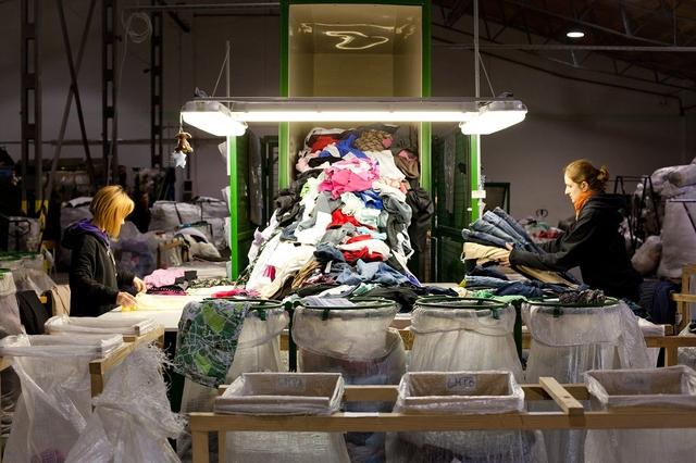 Textil újrahasznosítás